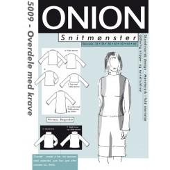 Onion mønster 5009 overdel