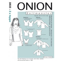Onion mønster 5035 3x toppe