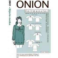 Onion mønster 5041 Skjorte tunika