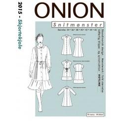 Onion mønster 2015 Kjole