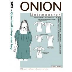 Onion mønster 2021 Tunika kjole
