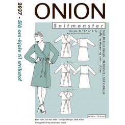 Onion mønster 2037 kjole
