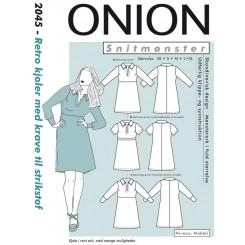 Onion mønster 2045 kjole
