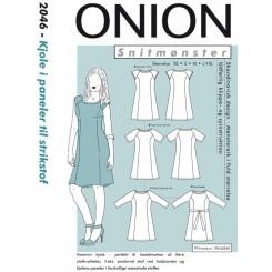 Onion mønster 2046 kjole
