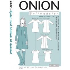 Onion mønster 2047 kjole