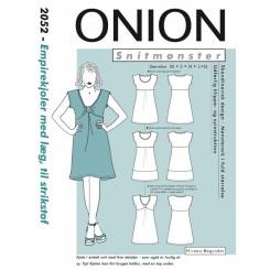 Onion mønster 2052 kjole