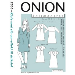 Onion mønster 2056 kjole