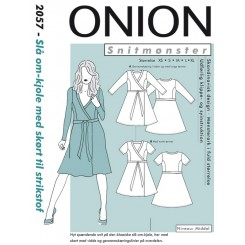 Onion mønster 2057 kjole