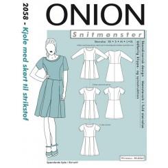 Onion mønster 2058 kjole