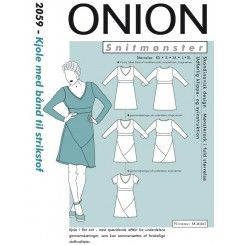 Onion mønster 2059 kjole