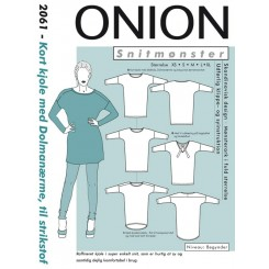 Onion mønster 2061 kort kjole