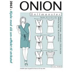 Onion mønster 2063 kjole