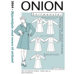 Onion mønster 2064 Skjorte kjole