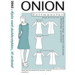 Onion mønster 2065 kjole