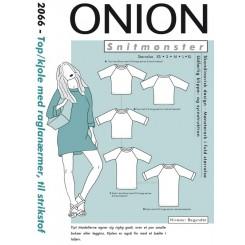 Onion mønster 2066 Top kjole
