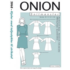 Onion mønster 2068 kjole