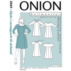 Onion mønster 2069 kjole