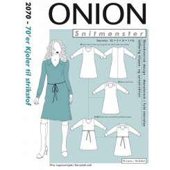 Onion mønster 2070 kjole
