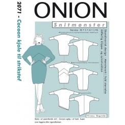 Onion mønster 2071 Cocoon kjole