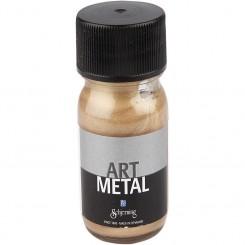 Metallic mørk guld maling 30 ml