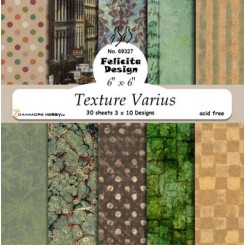 Texture Varius designer ark, 30 stk