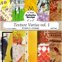 textured Varius vol.1 ark 30 stk