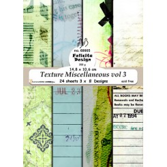 Texture miscellaneous vol 3, 24 ark