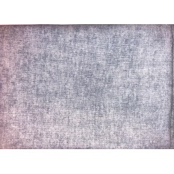 Meleret lysblå fatquarter 50 x 55 cm