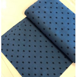 Rib 50 x 75 cm Blå stjerne