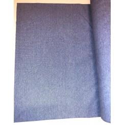Rib  ½ meter x 75 cm Lysblå melange
