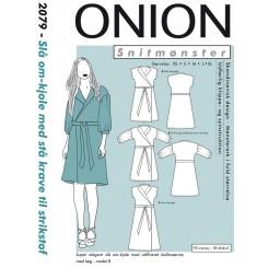 Onion Slå om- kjole 2079