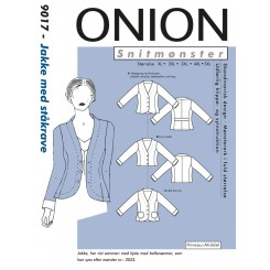Onion Jakke med ståkrave  9017