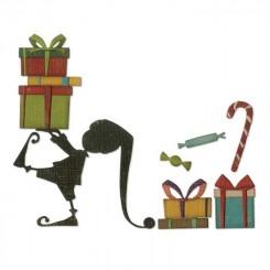 Julemandens hjælper dies, Tim Holtz