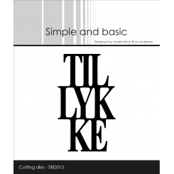 Tillykke dies, Simple and Basic