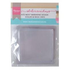 Shaker card square 10 stk 9 x 9cm
