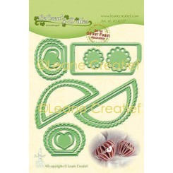 Heart wave deco die , Leane C