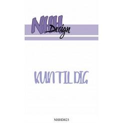 Kun til dig 2 dies NHH Design