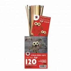 Brown mix Owl kit