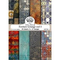 Texture Grunge vol 1, 24 ark