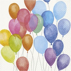 Ballon serviet 20 stk, Fødselsdag