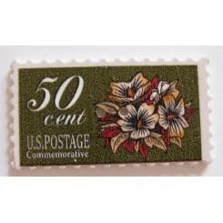 Knap frimærke 50 cent