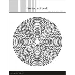 Dobbelt stitch cirkel dies sæt