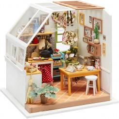 miniature køkken rum med tilbehør