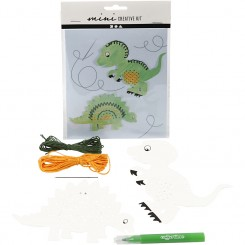Mini Creative kit, Dinosaurus