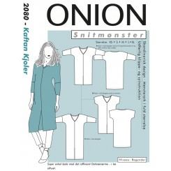 Onion snitmønster nr. 2080 Kaftan kjole