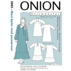 Onion snitmønster nr. 2082 Maxi Kjoler