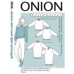 Onion snitmønster nr. 5046 Sweet shirt