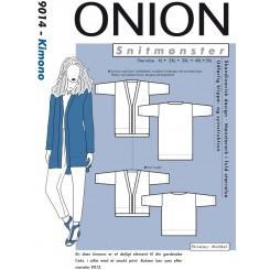 Onion snitmønster nr. 9014 Kimono