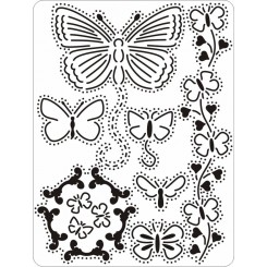 Multi mini Grid no.15 Butterflyes