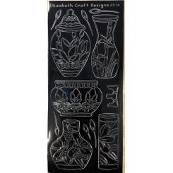Asian Vase Stickers Sort